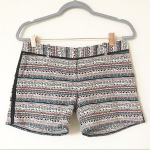 The Limited Tribal Pattern Multicolor Shorts